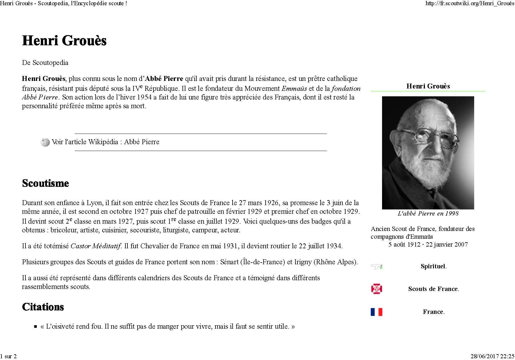 Henri groues scoutopedia l encyclopedie scoute page 1